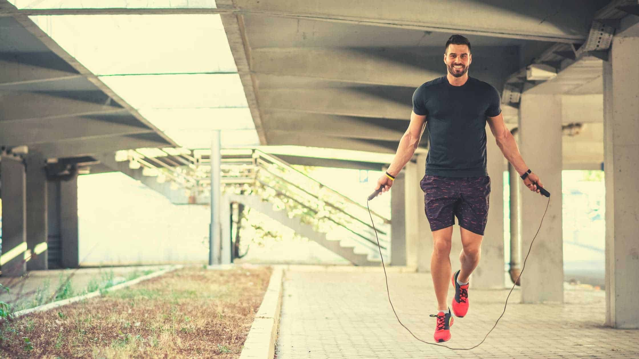 jumping rope to lose belly fat