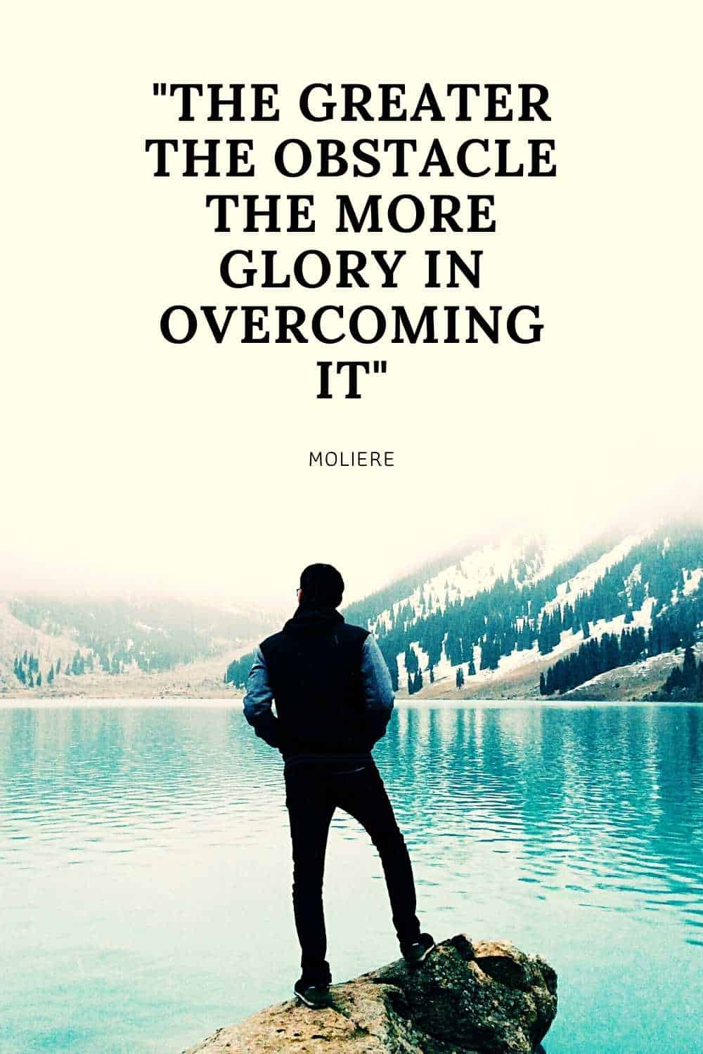 overcoming obstacles quote